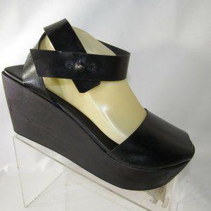 Reinhard Plank Sz 10.5 M Black Sandals Women B2D19